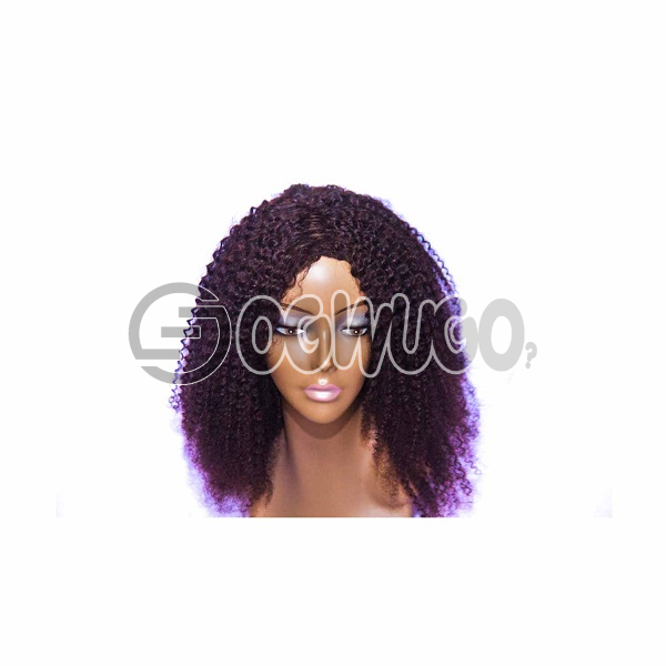 Caribbean Human Hair Wig, hair length of 18 inThis ches. order takes two working day to be delivered from when you place order