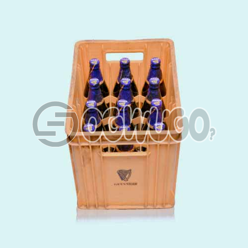Harp Lager Bottled Beer by Guinness 12 bottles in a crate 60 cl bottle size