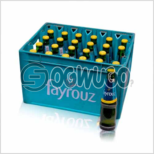 Fayrouz sparkling Soft Drink 33cl bottle size  x 24 bottles in a crate
