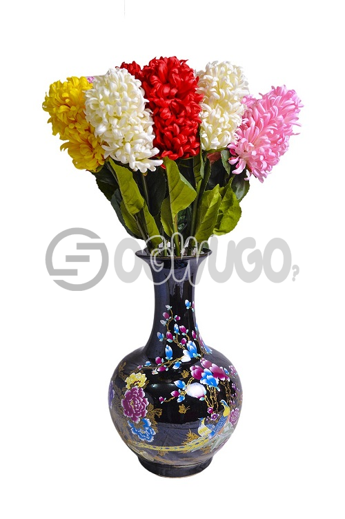Black Flower vase gives you extraordinary decoration.The porcelain style is known for multiple color: unable to load image