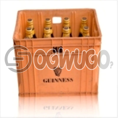 Guinness Foreign Extra Stout (BIG) 12 bottles in a Crate 7.5 alcohol content  60cl bottle size