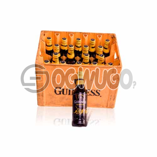 Guinness small stout bottled beer x 18 bottles in a crate 33cl bottle size