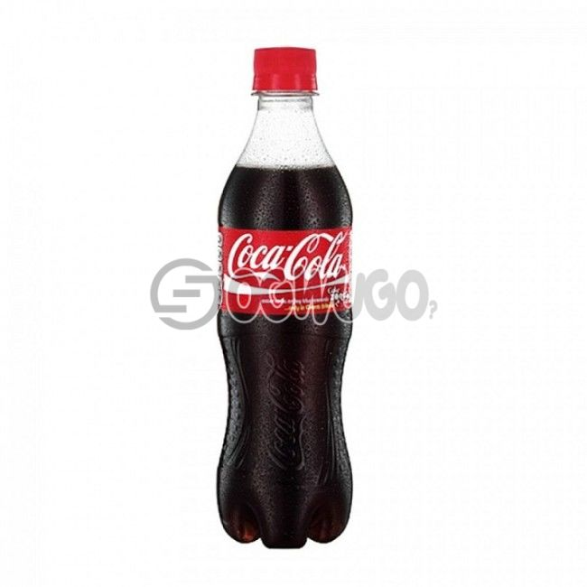 (Coke) Chilled Carbonated Coca-cola pet soft drink. This product is crisp, smooth and refreshing.