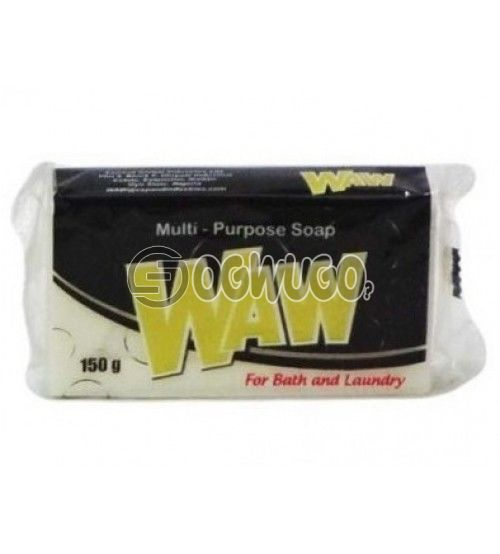 150 grams (150g) WAW powdered washing tablet soap for fresher and clean white clothes.