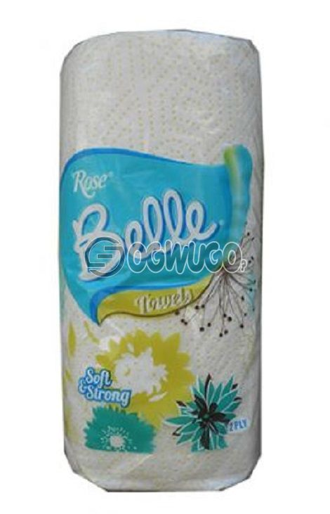 Tall and big sized very thin, soft, and delicate Rose Belle Tissue paper.: unable to load image