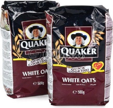 500 grams (500g) Quaker Oat nutritious whole grains with wholesome goodness and great tasting variety.
