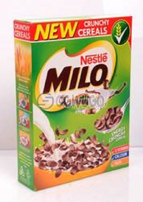 Nestle MILO Energy Chocolate and Malt flavoured Cereal with Wholegrain, vitamins & minerals.