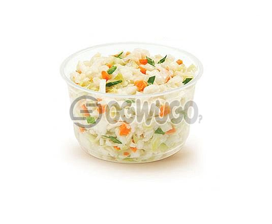 A portion of Freshly Made Vegetable Salad with enough tasty ingredient that will keep you sparkling