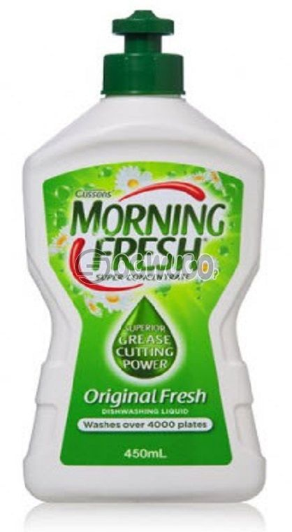 500ml Morning Fresh Zesty Lemon Original with Glycerin, best for dish washing
