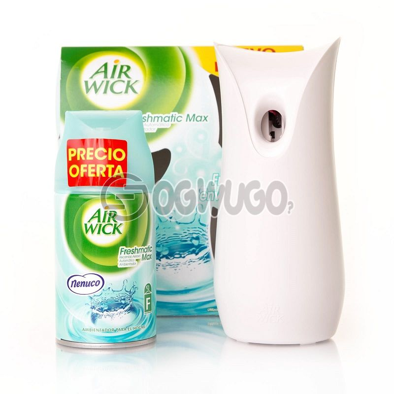 Airwick freshmatic Air Freshner Refill with sprayer, up to 60days of sweet home fragrance.