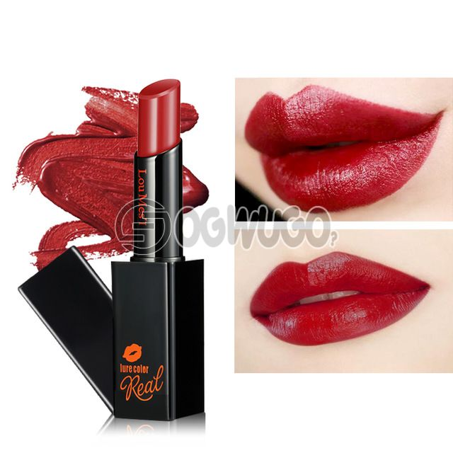 Very nice and affordable LOUMESI Lipstick; that comes in various colour shades. Velvet Lasting moisturizing.: unable to load image