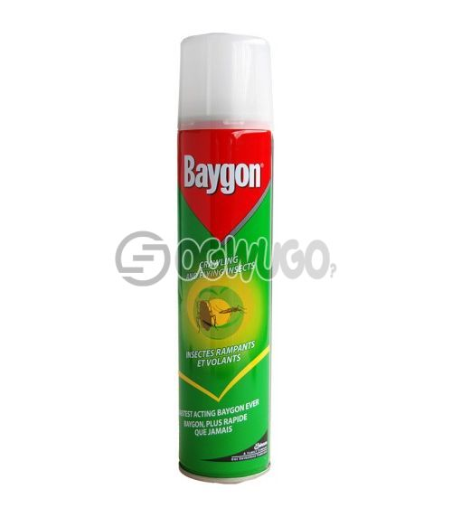 300ml Baygon Insecticide Aerosol spray; best for killing both crawling and flying insects.: unable to load image