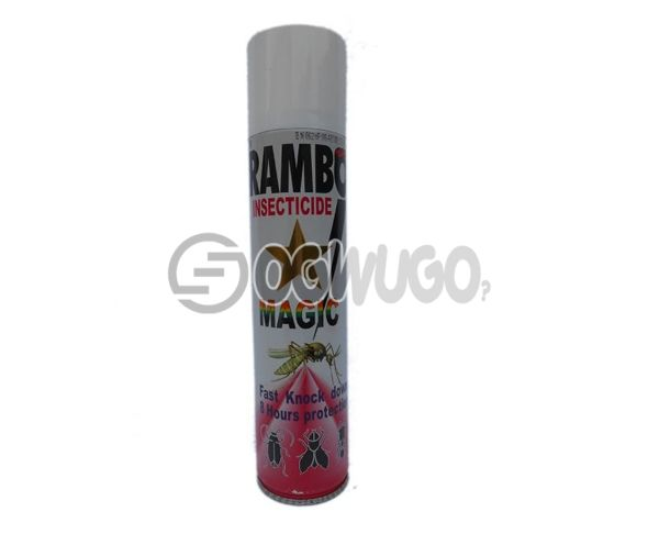 500ml Rambo Insecticide MAGIC spray, formulated with powerful magic action that quickly knocks down both crawling and flying insects.: unable to load image