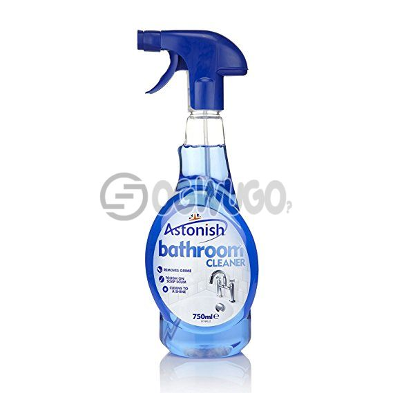 Astonish Bathroom Cleaner 750ml, specially formulated cleaner that targets all those difficult problem areas in the bathroom.