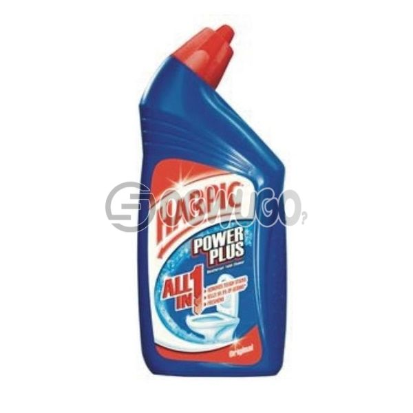 725ml  Harpic Power Plus (Different colors) toilet bowl cleaner that offers specialized cleaning and disinfecting of toilet bowls and cisterns.