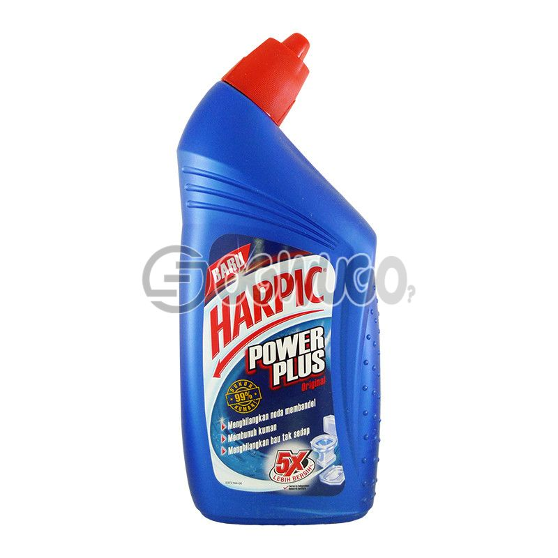 450ml Harpic Power Plus (Different colors) toilet bowl cleaner that offers specialized cleaning and disinfecting of toilet bowls and cisterns.