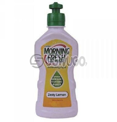 200ml Morning Fresh Zesty Lemon Original with Glycerin, best for dish washing