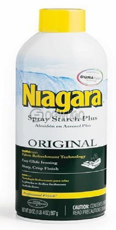 Niagara spray starch for easy and fast ironing leaving your fabric with a crisp professional look.