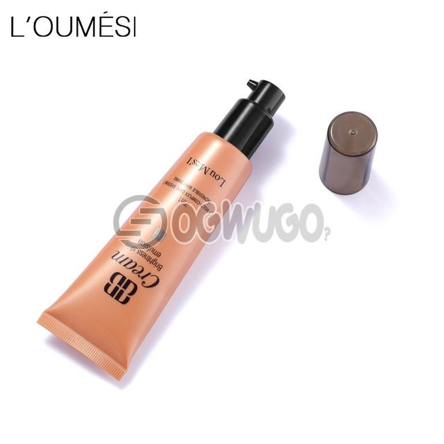 Loumesi bb cc cream face care foundation 7 in one base makeup Perfect Cover Facial Whitening & Concealer & Moisturizing. #3 Deep color. Skin partial skin black, blemish: unable to load image