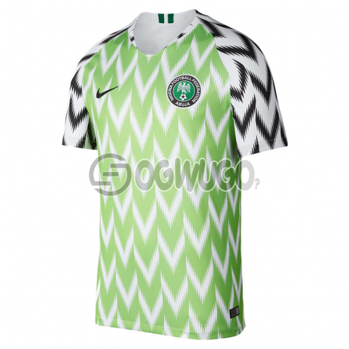 Original Nigerian Super Eagles Home and Away Jersey for the 2018 World Cup.: unable to load image