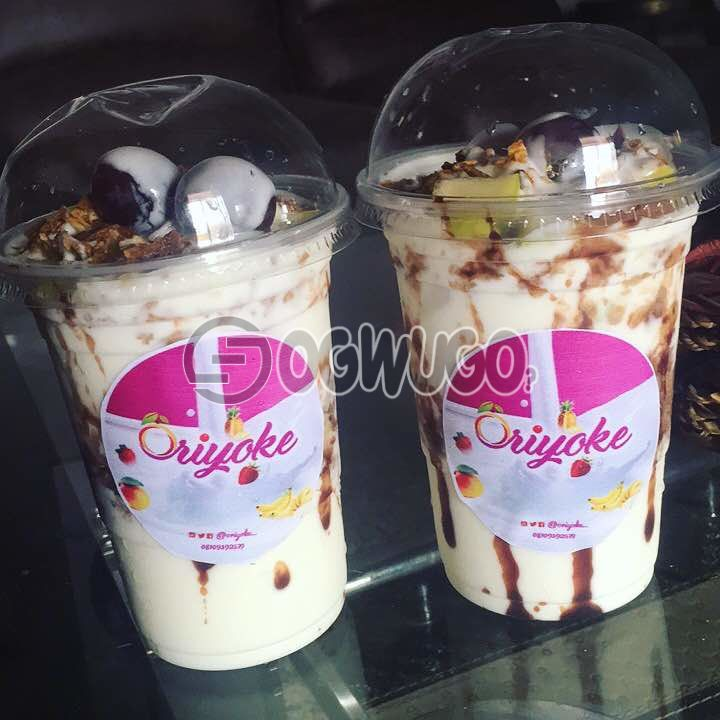 YOGHURT, Oriyoke Parfait is a healthy blend of healthy and nutritious yoghurt with fruits.