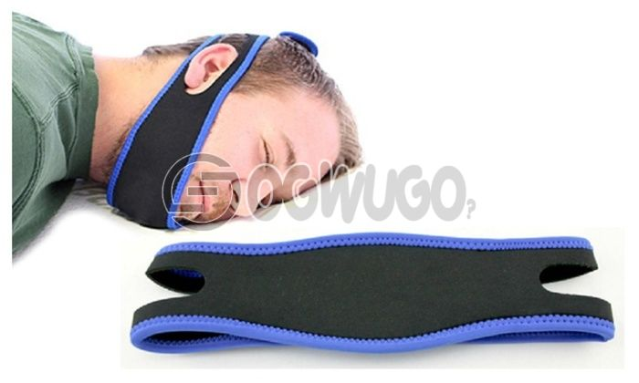 Anti Snore Stop Snoring Sleep Apnea Strap Belt Jaw Solution Chin?. Buy now and we will deliver it to you at your doorstep: unable to load image