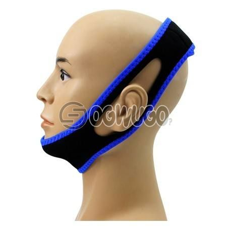 -Anti Snoring Belt Snore Stopper Chin Jaw Strap Supporter Sleep we offer Fast Delivery Anywhere: unable to load image