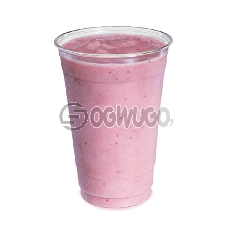 Blended and chilled SMOOTHIE, made from fresh frozen fruit and vegetables. (Big cup)