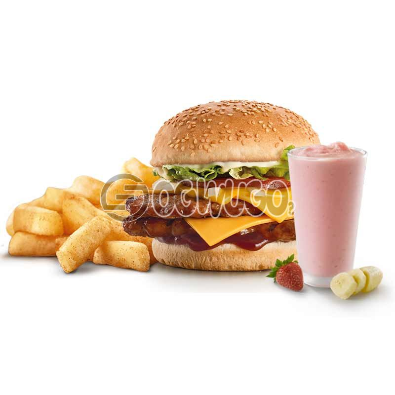 Daisy Life Mega Combo Deal: Smoothie + Big Burger + Chips (Available for a limited time).