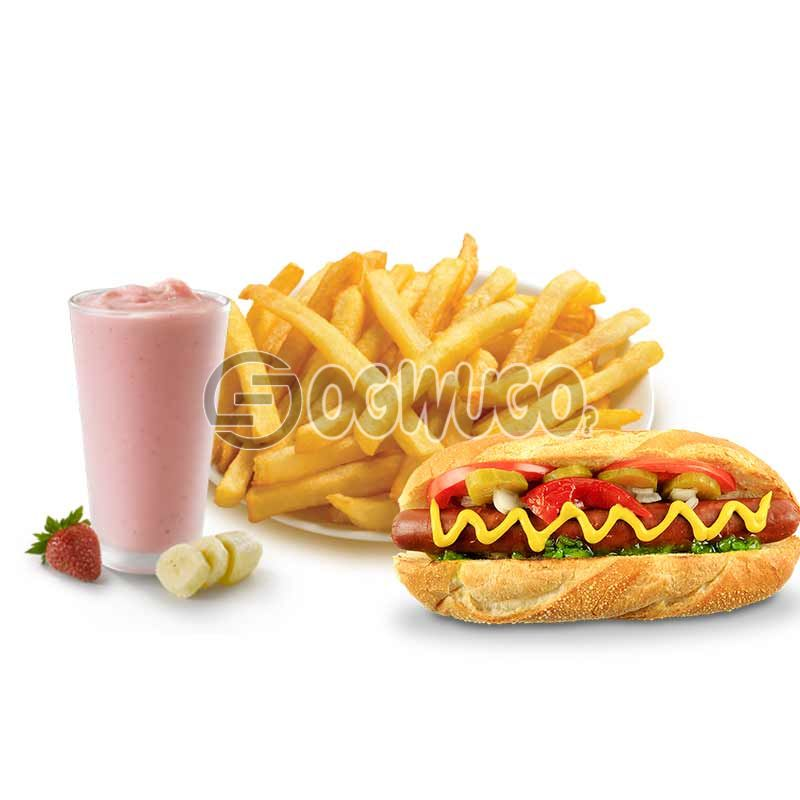 Daisy Life Mega Combo Deal: Smoothie + Hotdog + Chips (Available for a limited time). : unable to load image