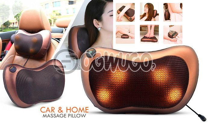 Massage Pillow for maximum blood circulation and INSTANT pain relief: unable to load image