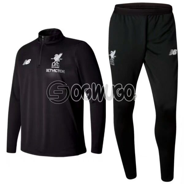 The Official Liverpool Football Club Original Track Suit for the Upcoming 2018/19 Season.