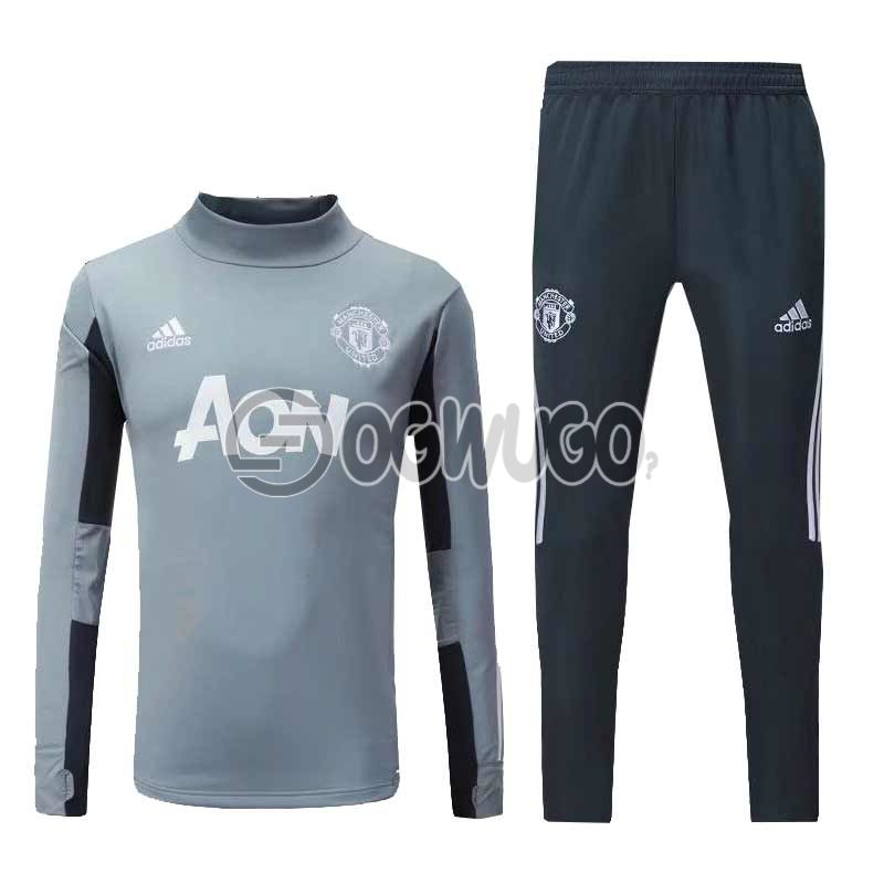 The Official Manchester United Football Club Original Track Suit for the Upcoming 2018/19 Season.: unable to load image