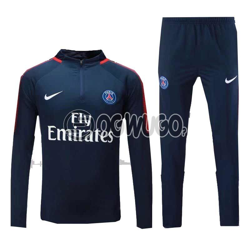 The Official Paris Saint Germain Football Club Original Track Suit for the Upcoming 2018/19 Season.