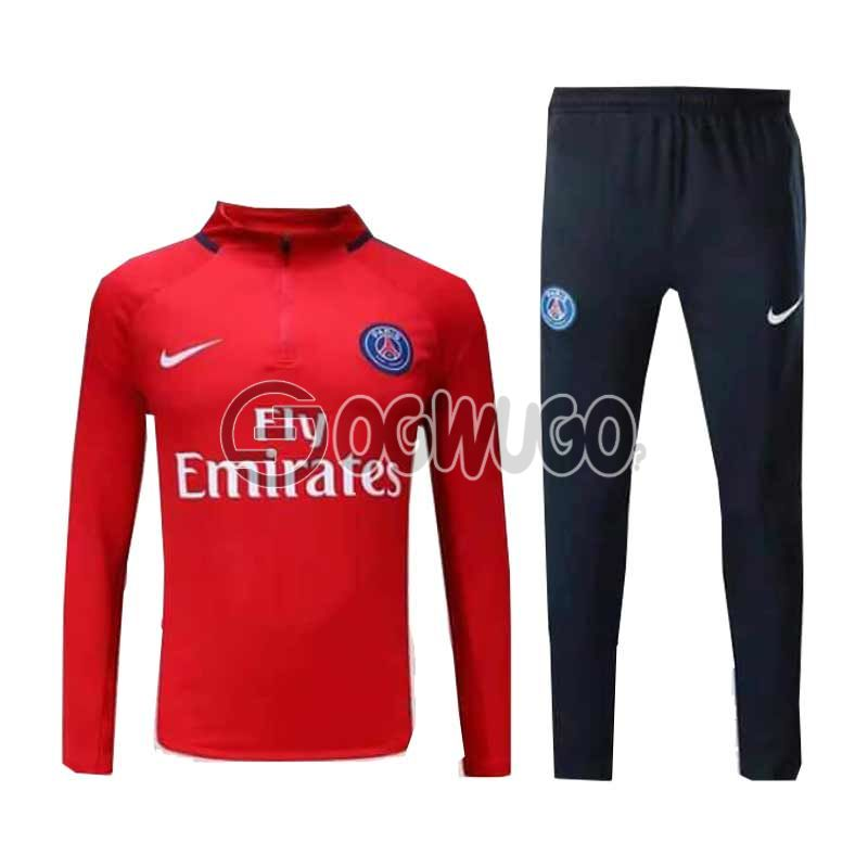 The Official Paris Saint Germain Football Club Original Track Suit for the Upcoming 2018/19 Season.: unable to load image