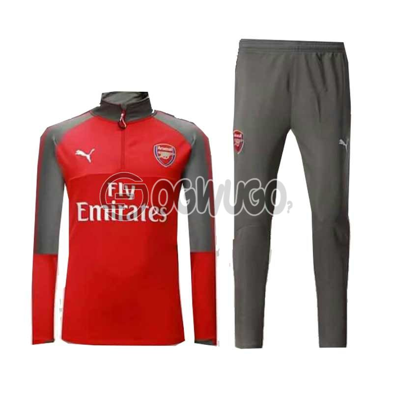 The Official Arsenal Football Club Original Track Suit for the Upcoming 2018/19 Season.: unable to load image