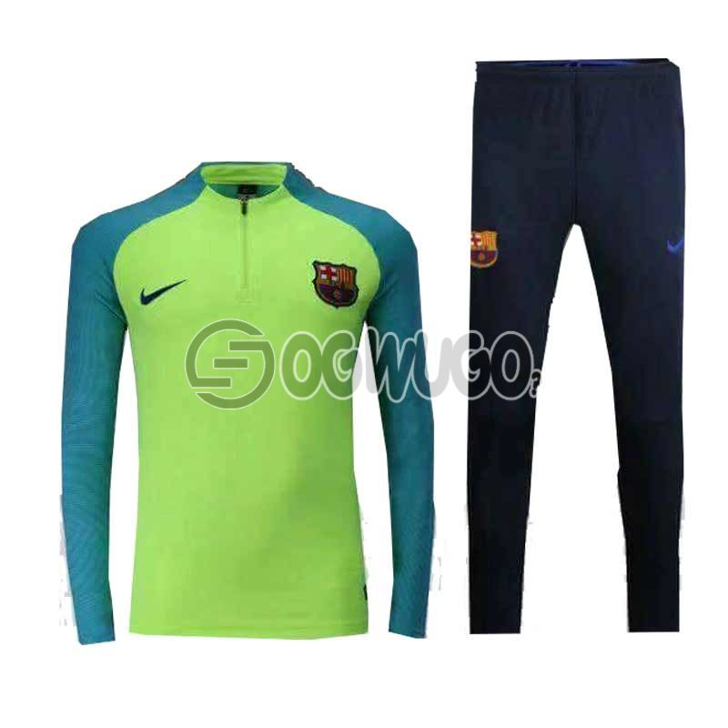 The Official Barcelona Football Club Original Track Suit for the Upcoming 2018/19 Season.: unable to load image