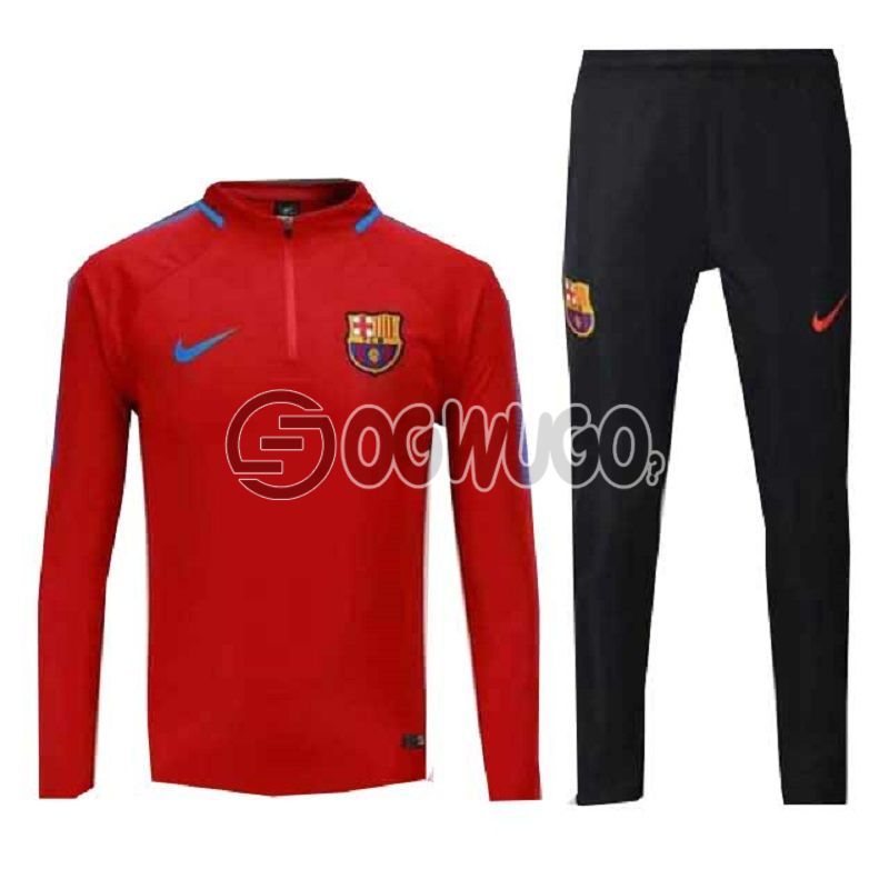 The Official Barcelona Football Club Original Track Suit for the Upcoming 2018/19 Season.