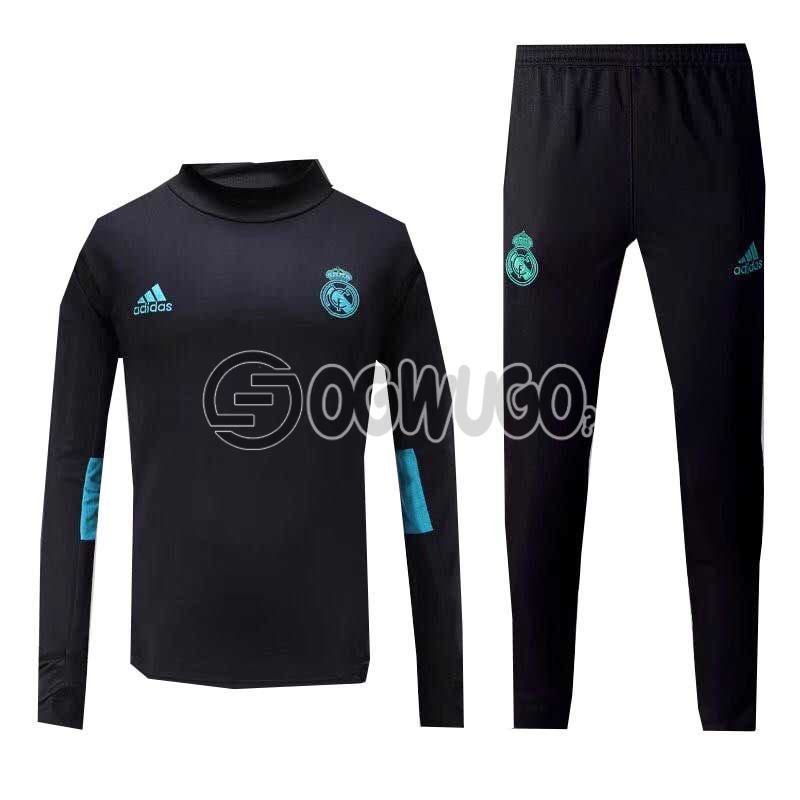 The Official Real Madrid Football Club Original Track Suit for the Upcoming 2018/19 Season.: unable to load image