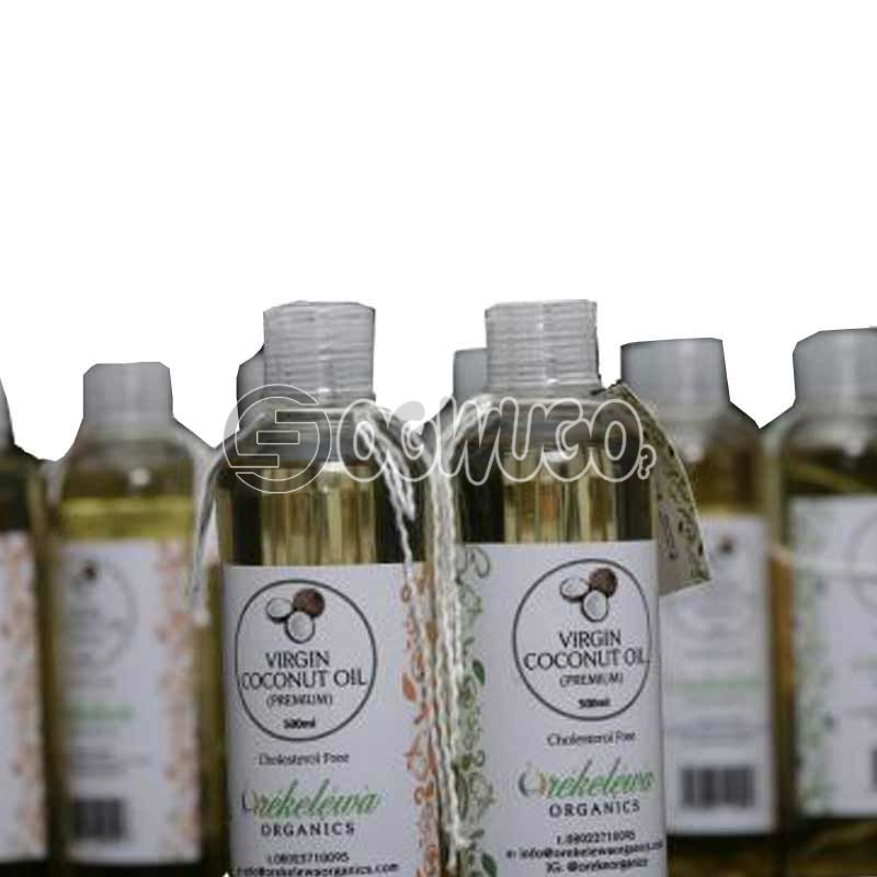 1 Bottle of 100ML Orekelewa Virgin Coconut Oil. Pure Premium Organic Coconut Oil Made in Nigeria
