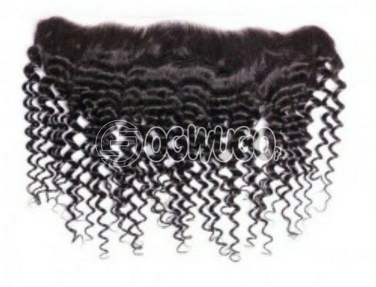 13by 6 ear to ear 2-16 inches Mongolian kinky  virgin Indian hair  lace frontals ,no shedding, no tangling 100% guarantee