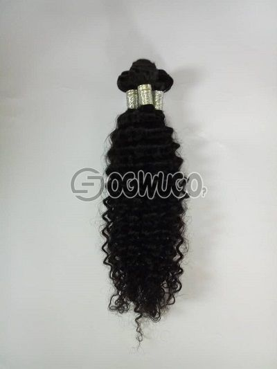 Glory kinky curl. 18 inches Mongolian kinky Indian Virgin hair, no shedding, no tangling, 100% unprocessed hair .: unable to load image