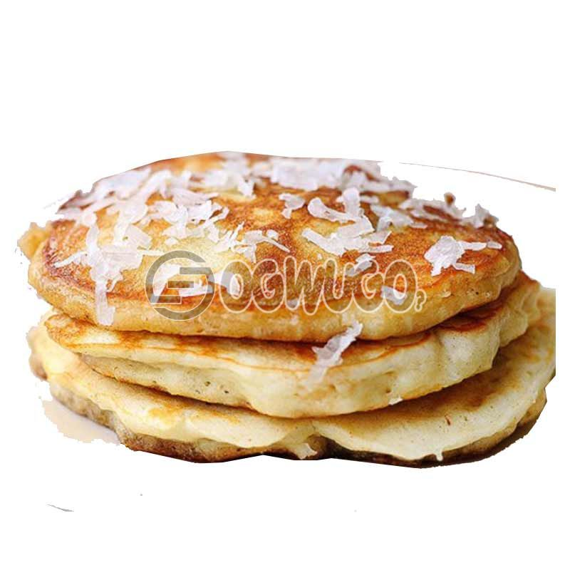 Daisy Life Special; Three (3) Banana or Coconut Pancakes... Very delicious and tasty .: unable to load image