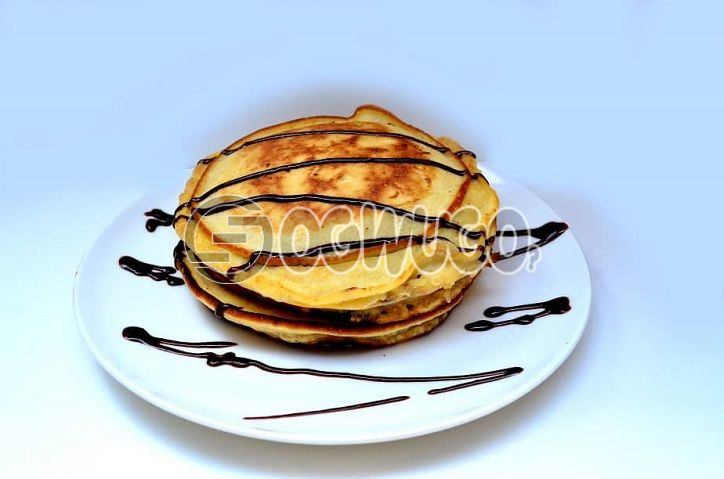 Daisy Life Special; Three (3) Strawberry/Chocolate/Ice Cream Pancakes...Strawberry/Chocolate/Ice Cream Pancakes... Very delicious and tasty .: unable to load image