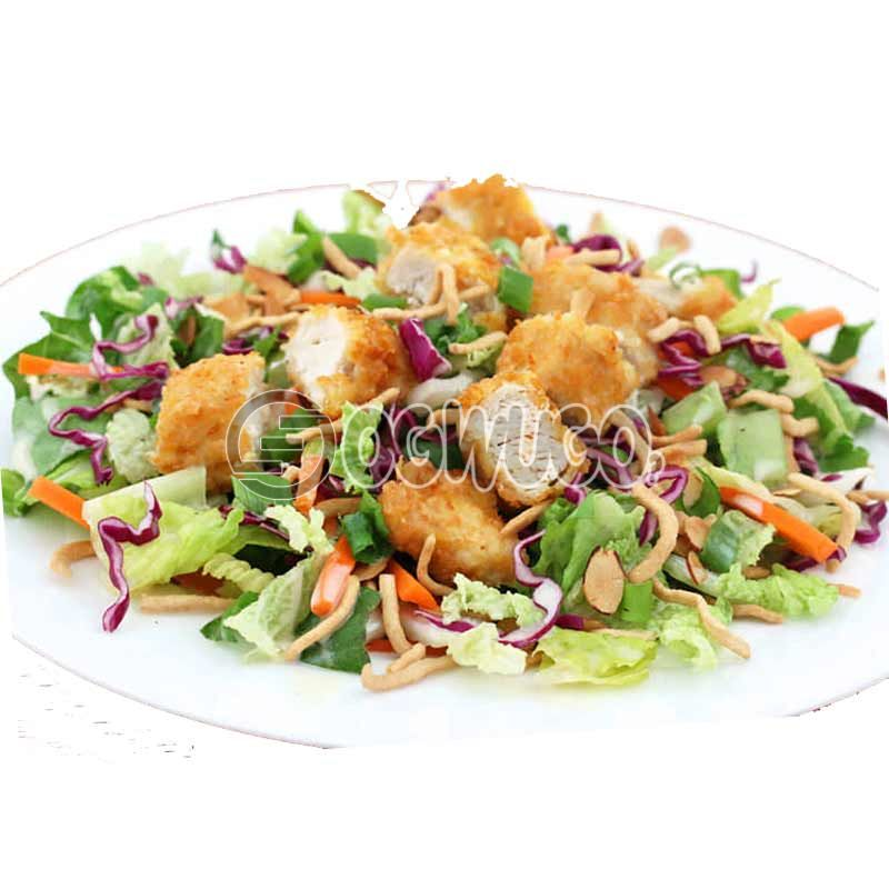 Crunchies Chicken Top Salad (not creamed).