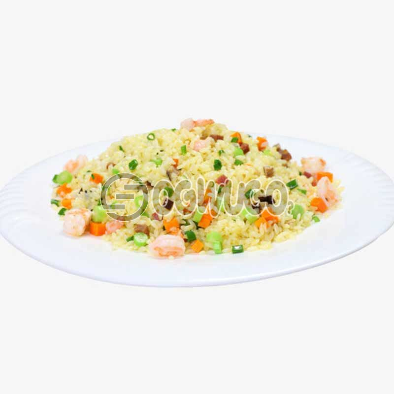 Crunchies deliciously prepared Fried rice, Jellof rice, Spicey rice, Coconut or White Rice.: unable to load image