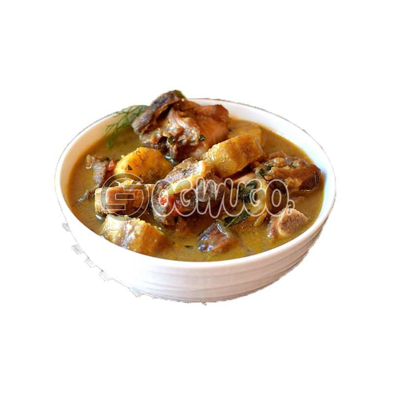 Very delicious Plantain Peppersoup.