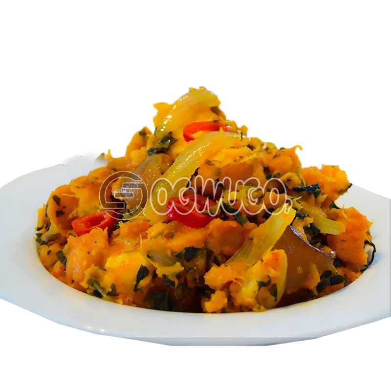 Very delicious Yam Porridge.