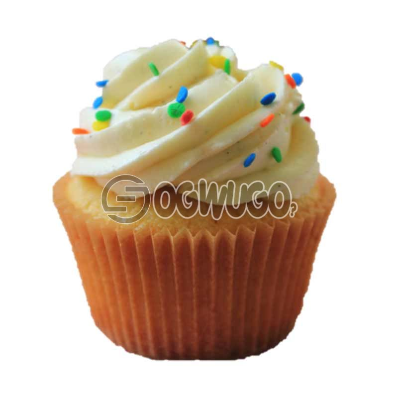 One yummy and delicious cup cake.: unable to load image