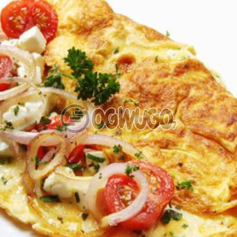Crunchies delicious special Omelette.: unable to load image